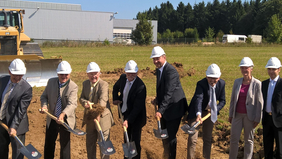 First Sod for New Building in Villingen-Schwenningen