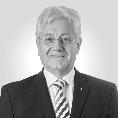 Active as President Dr.-Ing. Hubert P. Büchs